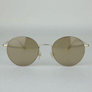 3ebddbf99a8 Gucci Round Metal Sunglasses with Logo GG 4273 S 3YGMI 391327 8903 ...