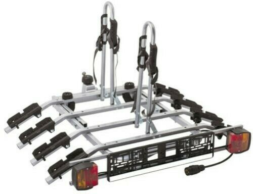 Anhängerkupplung Neigbarer 7-poliger Stecker Titan 4 Fahrradträger Frühling