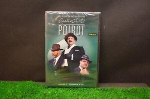 DVD POIROT SAISON 2 EPISODES 3 A 5 NEUF SOUS BLISTER Agatha Christie Livre