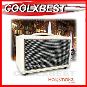 NEW-NEWNEST-ACTIVE-BLUETOOTH-STEREO-SPEAKER-AUX-amp-GUITAR-INPUT-PORTABLE-WHITE