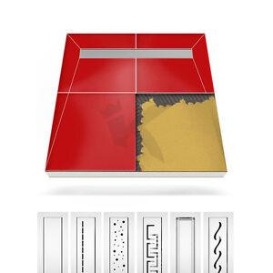 duschelement duschboard ablaufrinne edelstahl befliesbar bodeneben duschtasse ebay. Black Bedroom Furniture Sets. Home Design Ideas