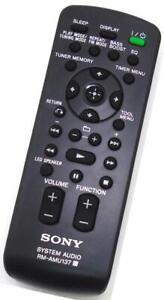 New Genuine Sony RM-AMU137 Boombox Remote For RDH-GTK33iP FST-GTK33iP