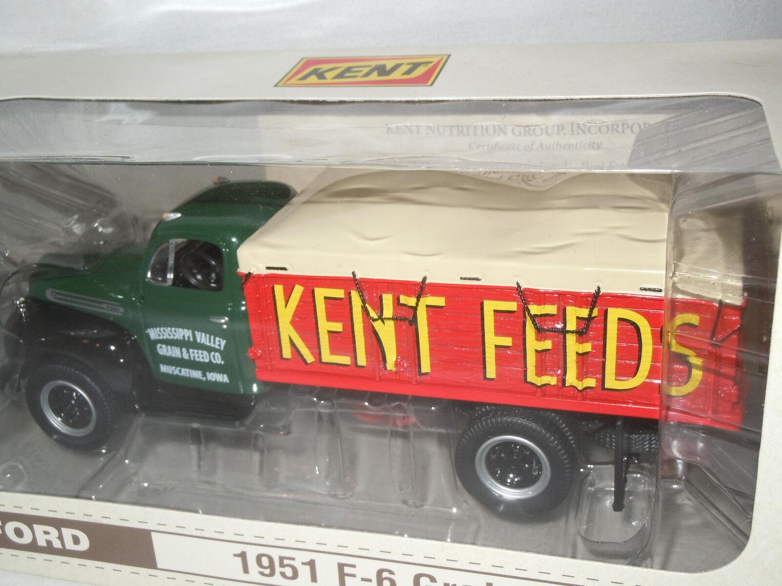Kent fuentes 1951 Ford F-6 Camión Camión Camión de grano de First Gear 1 34th Escala f5d33d