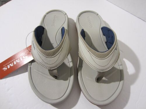 Simms Women/'s Atoll Flip Flops New Free US shipping Stone Size 7