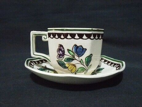 Stunning Royal Doulton Demitasse Cup and Saucer