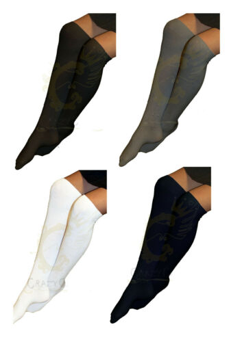 Girls /& Ladies 3 Pack Of Plain Knee High Cotton Rich Everyday School Socks Work
