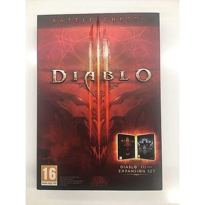 Diablo III 3 - Schlacht Brust Abdeckung und CD Nur der Box kein Spiel Code inkl.
