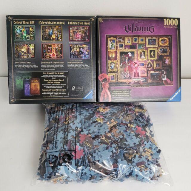 ravensburger disney villainous captain hook puzzle 27x20