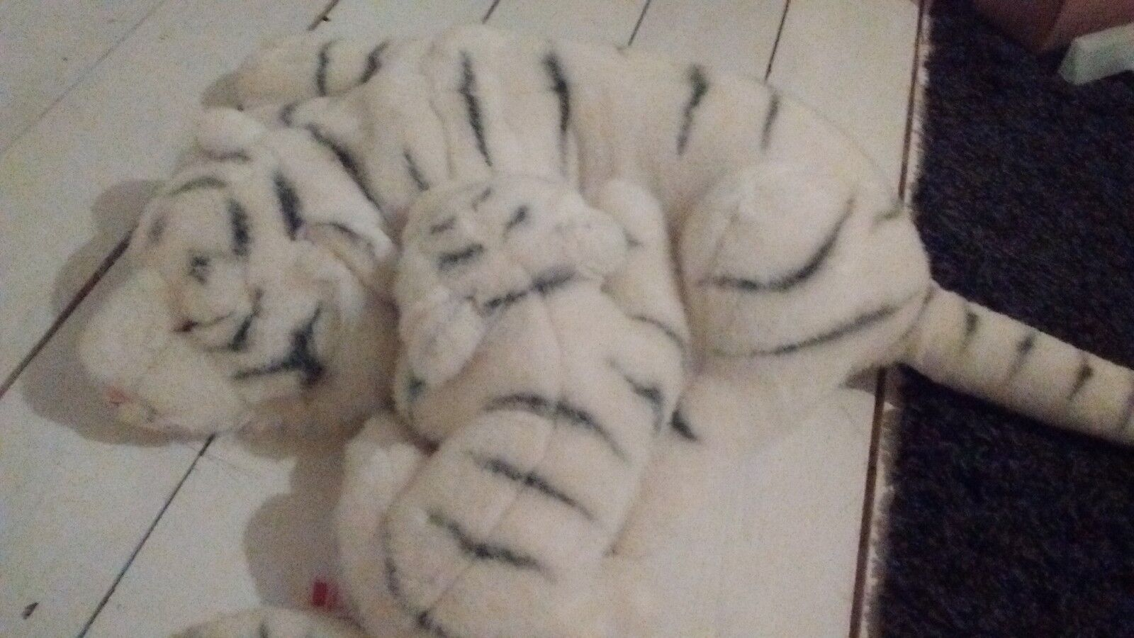 Collectable Soft Toys Snow Tigers Leosco