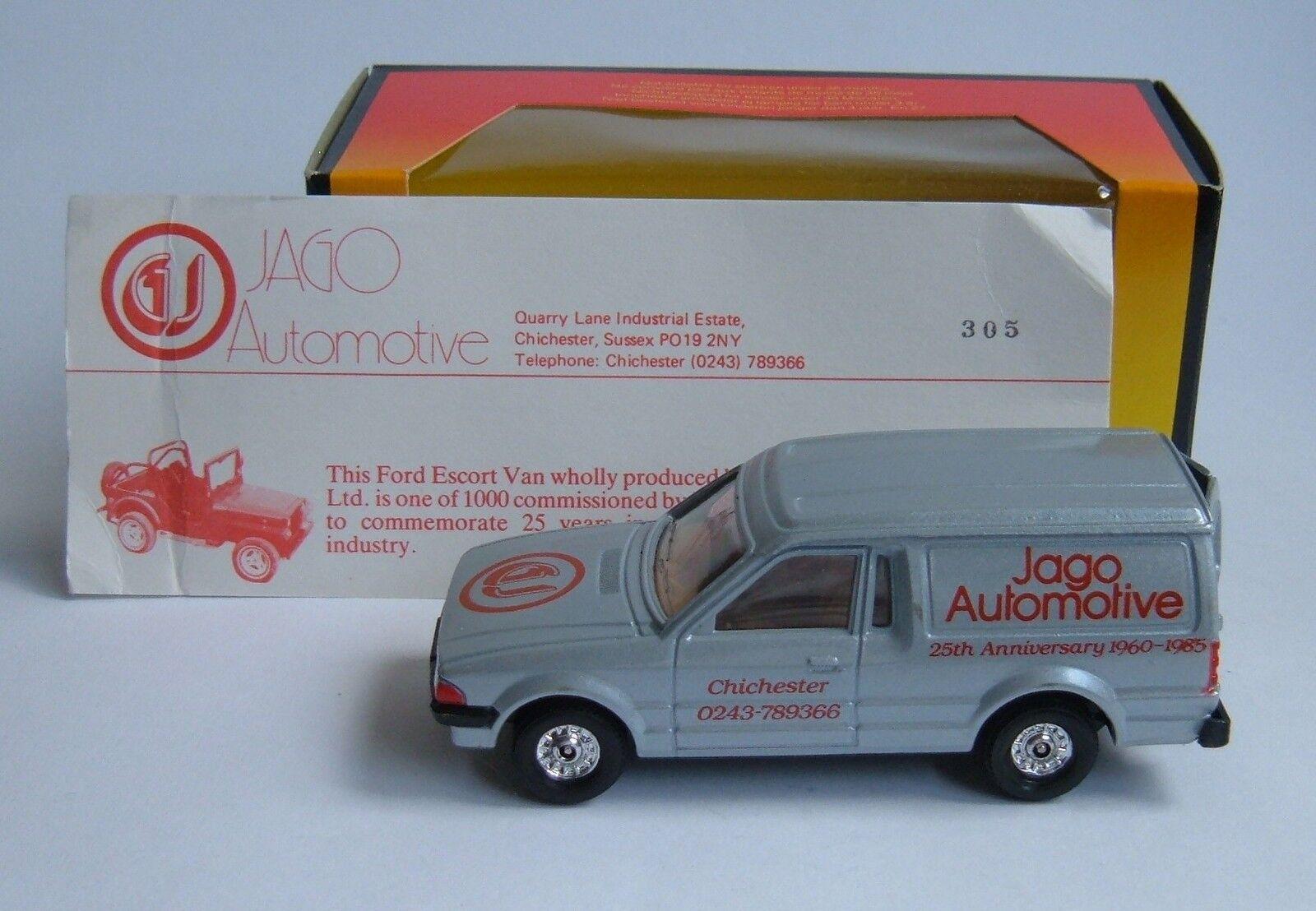 Corgi Toys No 497, FORD ESCORT  JAGO AUTOMOBILE , - Superbe Comme neuf