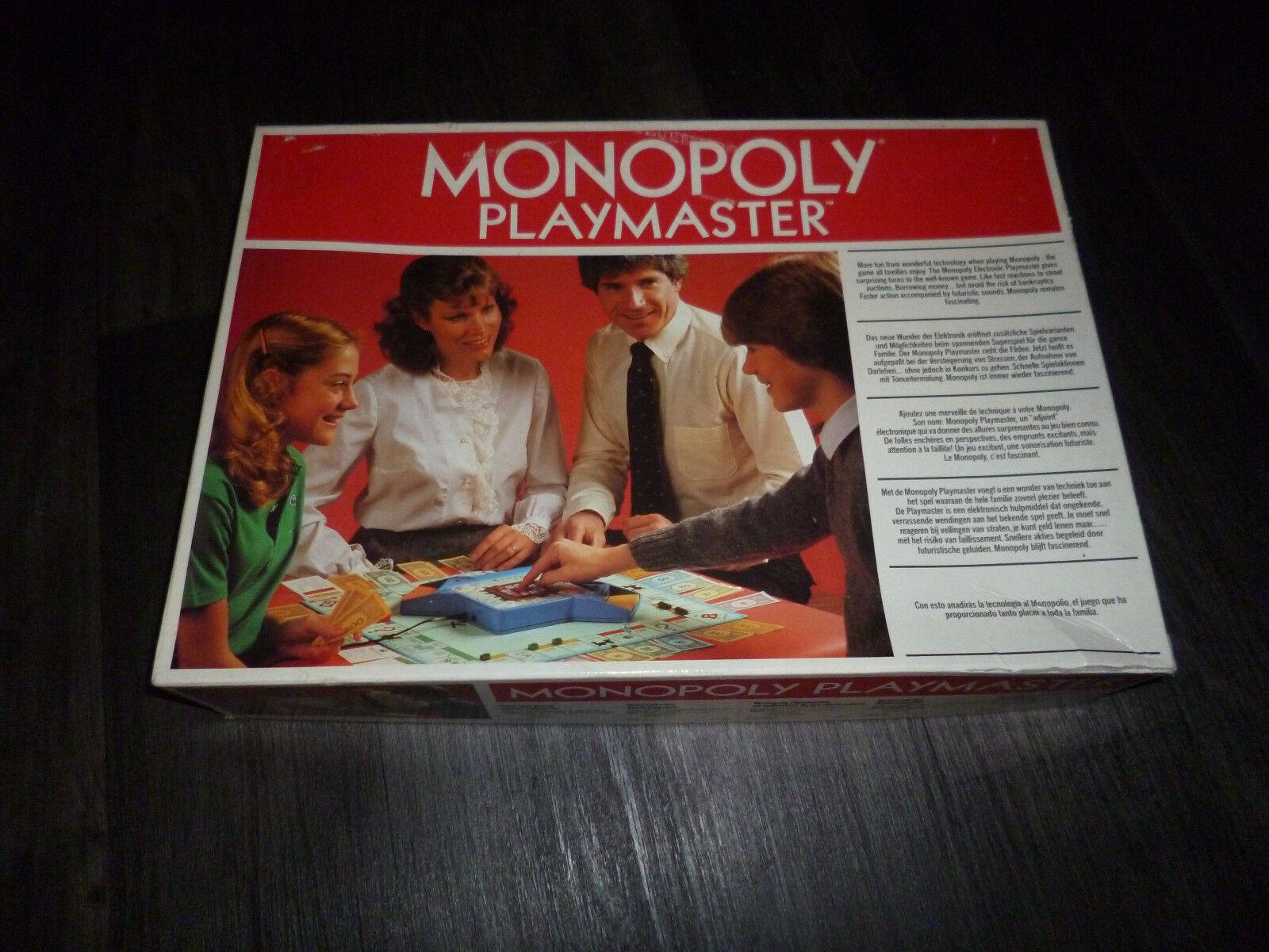 Monopoly Playmaster Playmaster Playmaster das erste Elektrische Monopolyspiel  RAR f0a55d