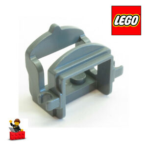 LEGO-PICK-A-BRICK-PIECE-4491b-4267282-Horse-Saddle-with-Two-Clips-GREY-SAURON
