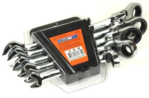 Größe 10 13 14 17 19 5tlg Steck Ring Ratsche Set Schlüssel Gelenkschlüssel