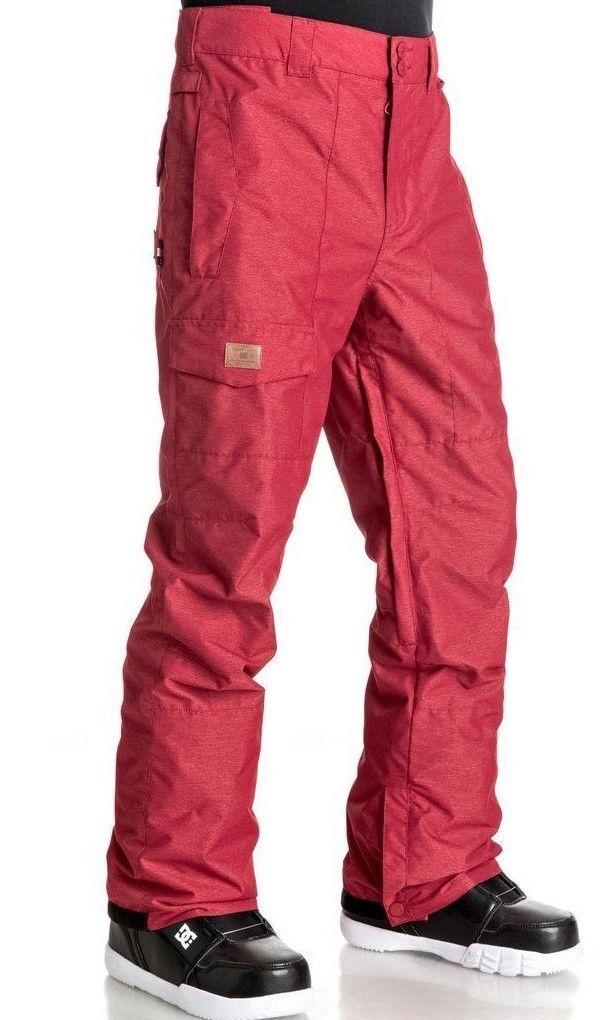 DC Dealer Mens Ski Snowboard Pants Salopettes Winter Snow Trousers L 10K NEW