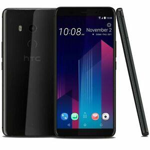 HTC-U11-Ceramic-Noir-64-Go-4-Go-RAM-6-0-039-039-Dual-SIM-Debloque-LTE-Smartphone