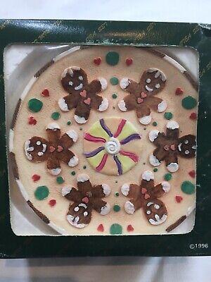 Candy House Gingerbread Miniature Tea Set 1996 Popular Imports TS495 10 Piece