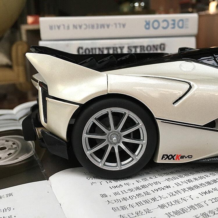 New 1 18 Bburago Ferrari FXXK FXX FXX FXX K EVO diecast open close car model white 87c918