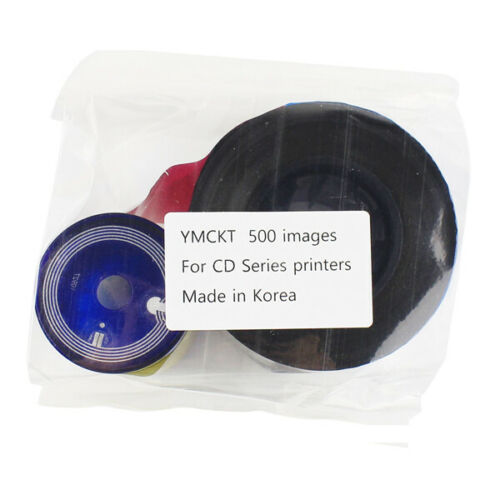 535000-003 YMCKT Color Ribbon for Datacard CP60 CP80 Card Printer 500 Images