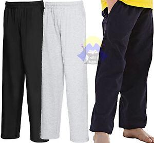 Pantalone LEGGERO Felpato Bambino/a FRUIT OF THE LOOM Tuta Pantaloni Jog KID Boy