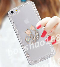 Glitter Luxury Crystal Bling Rhinestone Diamonds Soft Silicone Case Cover AE-13