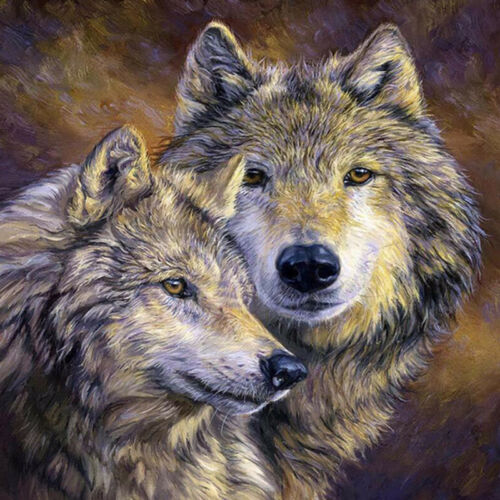 DIY diamond painting full square wolf eagle diamond embroidery wall Crafts decor