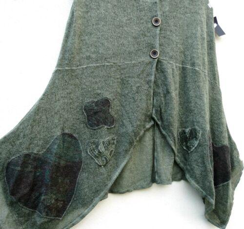 Long Santos Tunica Sarah Xl 48 50 Vest Lagenlok Throw Wool Tunica Autumn qxEdwdAYH