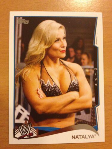 2014 Topps WWE #82 Natalya Comme neuf