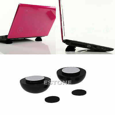 Laptop Notebook Cool Ball Cooler Stand + Skidproof Pad