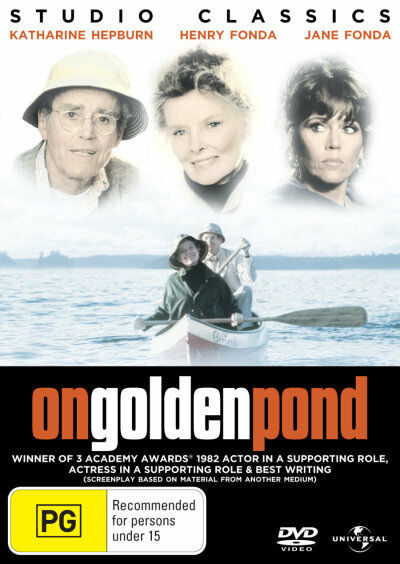 ON GOLDEN POND Henry + Jane Fonda Katherine Hepburn NEW DVD (Region 4 Australia)