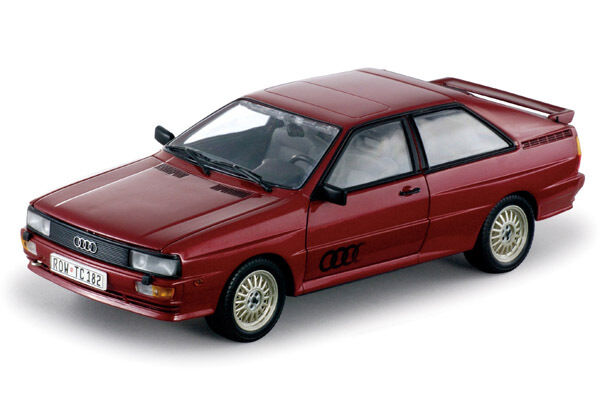 SUN STAR 1 18 AUDI QUATTRO COUPE' rouge 4153 04153