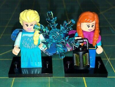 LEGO Disney Series 2 Minifigures 71024 Elsa AND Anna Both Figures SEALED Frozen
