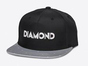 DIAMOND-SUPPLY-CO-DECO-CLIPBACK-CAP-BLACK-GREY