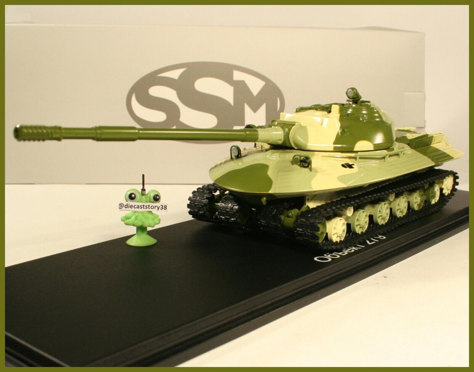 1 43 USSR Tank Object-279  Kotin  Panzer Militär SSM NVA DDR russian UdSSR CA