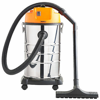 VonHaus Wet and Dry Vacuum Cleaner Vac with Blower 30L 1400W