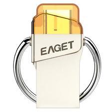 EAGET CU66 16G USB 3.0 to USB 3.1 Type-C USB-C Memory Stick Flash Drive OTG E3F9