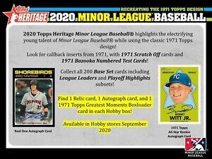 2020-Topps-Heritage-Minor-League-Baseball-Hobby-Box-Presell