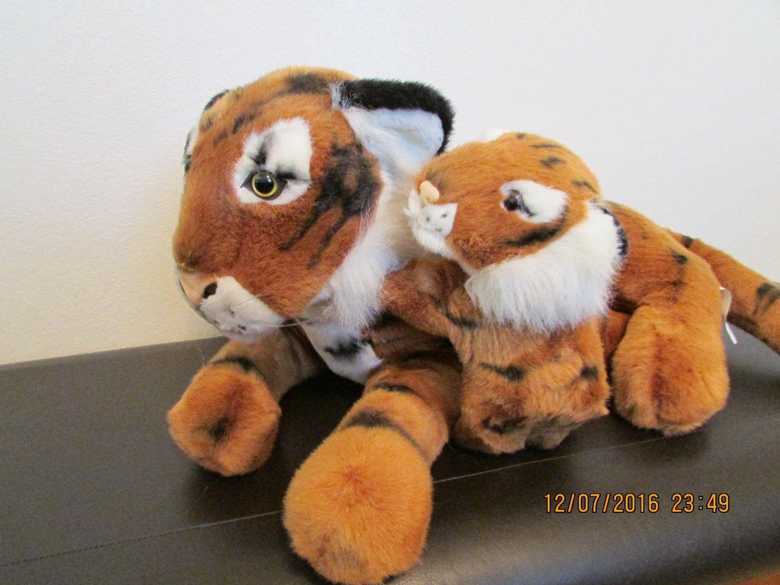 Plush Stuffed      BENGAL TIGER & CUB