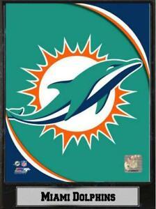 Miami-Dolphins-Logo-Holz-Wandbild-30-cm-Plaque-NFL-Football-Neu