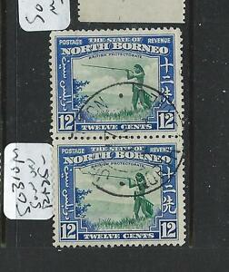 NORTH BORNEO (PP0608B) 12C HUNTER SG 310 PR VFU