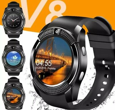 LATEST ROUND FACE BLUETOOTH TOUCH SCREEN SMARTWATCH FOR
