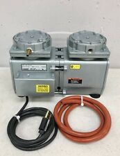 Gast Oil Less 2 Stage Dental Lab Vacuum Pump Daa V155 Eb For All Furnacesovens