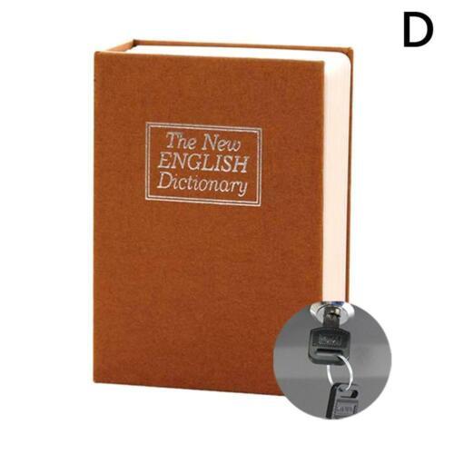 Dictionary Hidden Book Safe Lock Secret Security Money Hollow Book