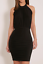 Black-Ruched-Dress-Choker-Bodycon-Gathered-Midi-By-Pretty-Little-Thing