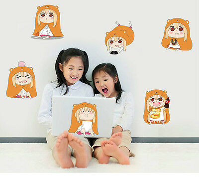 12 PCS Lovely Himouto! Umaru-chan Umaru Stickers WALL STICKERS Laptop Poster