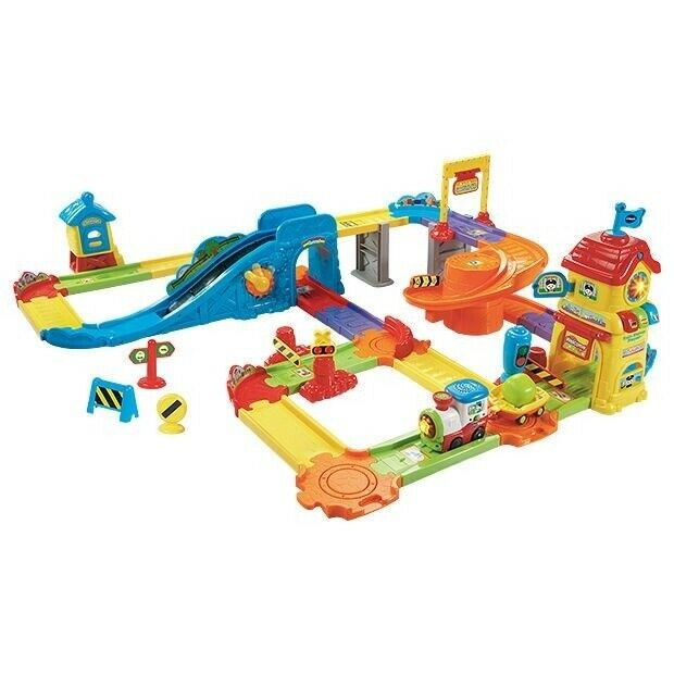 Kids Vtech Toot Toot Drivers Gold Mine Train Set Learning Toys for Children