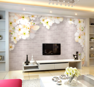3d Wall Flowery 4120 Wallpaper Murals Wall Print Wallpaper Mural