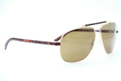 Tom Ford Rectangular Sunglasses TF561K 28J Gold//Havana 61mm FT0561