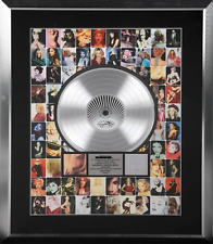 Madonna - GHV2 Genuine RIAA USA Platinum Disc Sales Award Authentic Official