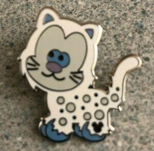 RARE-WDW-2011-Hidden-Mickey-Completer-Cute-Yeti-Cat-Disney-Pin-88506-PWP