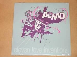 RARE-CD-PROMO-11-TITRES-ALMO-ELEVEN-LOVE-INVENTIONS-NEUF-SOUS-CELLO